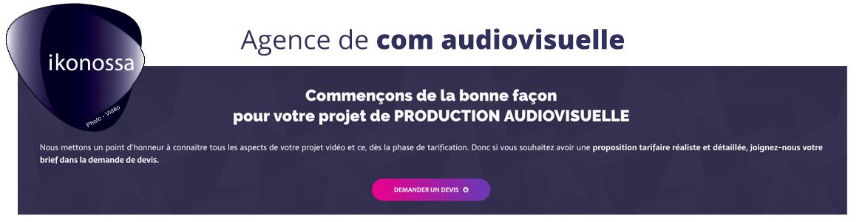 devis production audiovisuel