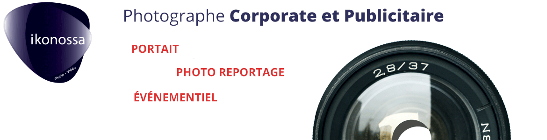 Photographe publicitaire et corporate