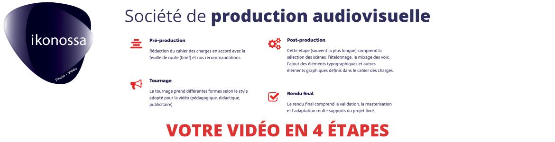 société de production audiovisuelle à Chartres