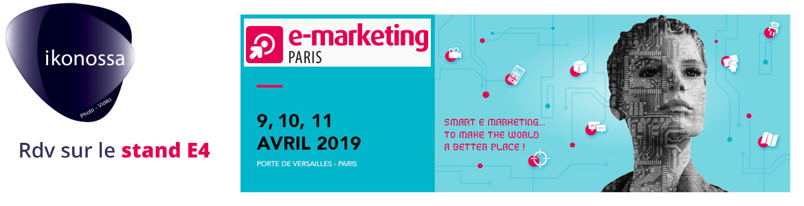 au salon du e marketing à Paris